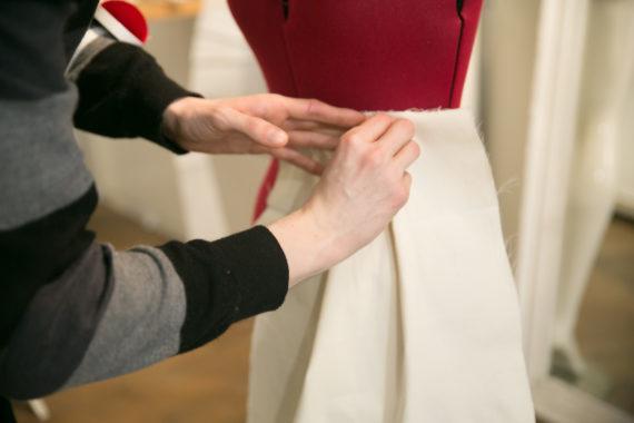 moulage d'une jupe : suite