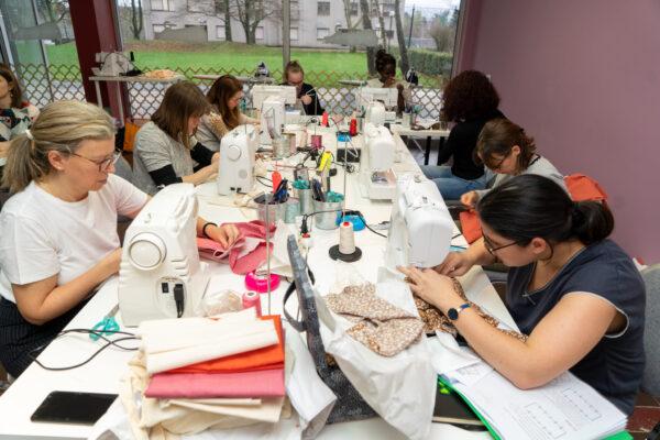 Des élèves en plein cours à Luxembourg