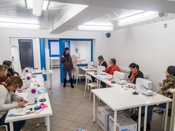 atelier de cours de couture à Ath
