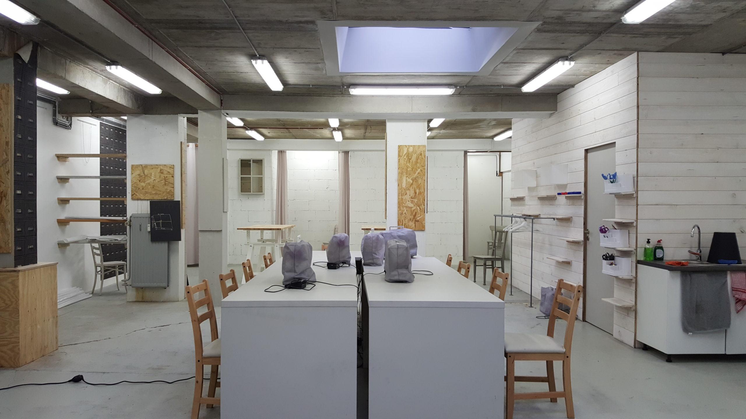 salle de cours de couture à Verviers