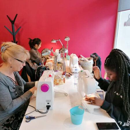 Atelier de cours de couture de Liège