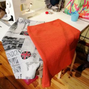 des jupes cousues par les élèves de Hognoul