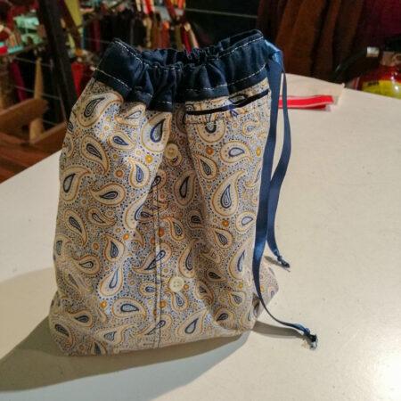 un sac réalisé par une élève de Hognoul